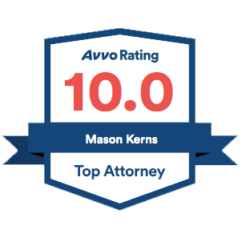 Mason Kerns Avvo Badge